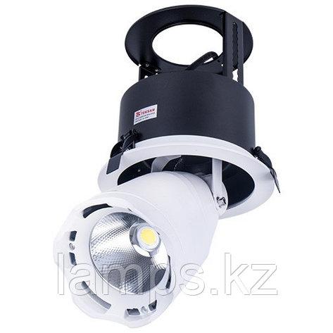 Светильник направленного света, светодиодный, потолочный LED LS-DK909 40W 5700K WH, фото 2