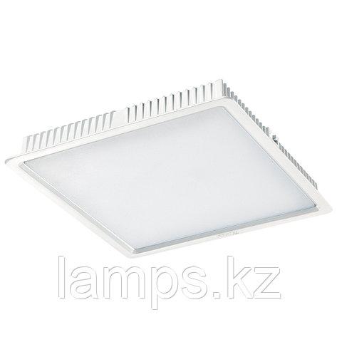 Светильник встраиваемый светодиодный квадратный белый потолочный LED SQ Panel 30W 3000K, фото 2