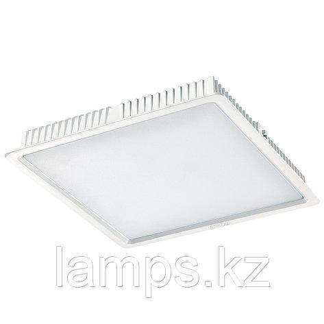 Светильник встраиваемый светодиодный квадратный белый потолочный LED SQ Panel 30W 4500K, фото 2