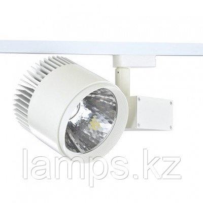 Светильник на шину, светодиодный, трековый, потолочный LED DK883 50W 6000K WH TRACK, фото 2