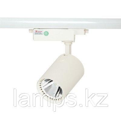 Светильник на шину, светодиодный, трековый, потолочный LED LS-003-100 30W 6000K WH, фото 2