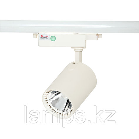 Светильник на шину, светодиодный, трековый, потолочный LED LS-003-100 30W 6000K White, фото 2