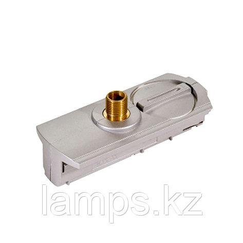Адаптер для светильников направленного света для установки на 2х-линейных шинопроводах типа Т-800 SILVER ADAPTOR (2 LINE) T-803 (TS), фото 2