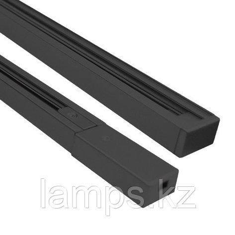 2х-линейный шинопровод типа Standart 4 метр M.BLACK 4m (2 LINE), фото 2