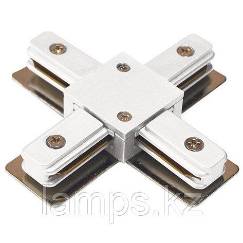 Коннектор X (соединитель) для 4х-линейных шинопроводов WH X-CONNECTOR (2 LINE), фото 2