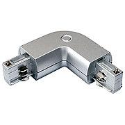 Коннектор L (соединитель) для 4х-линейных шинопроводов SILVER L-CONNECTOR (4 LINE)