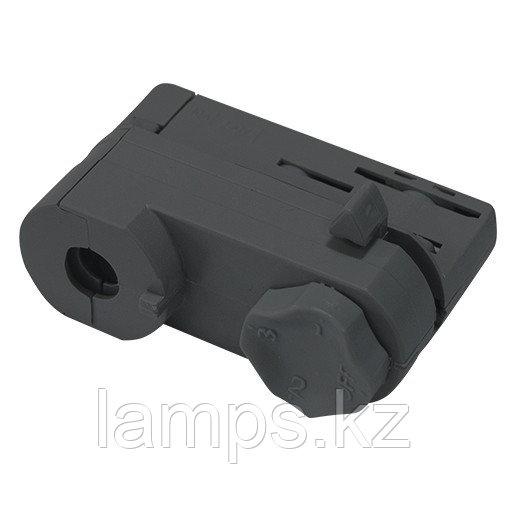 Адаптор для светильников направленного света для установки на 4х-линейных шинопроводах M. BLACK ADAPTOR (4
