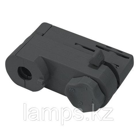 Адаптор для светильников направленного света для установки на 4х-линейных шинопроводах M. BLACK ADAPTOR (4 LINE), фото 2