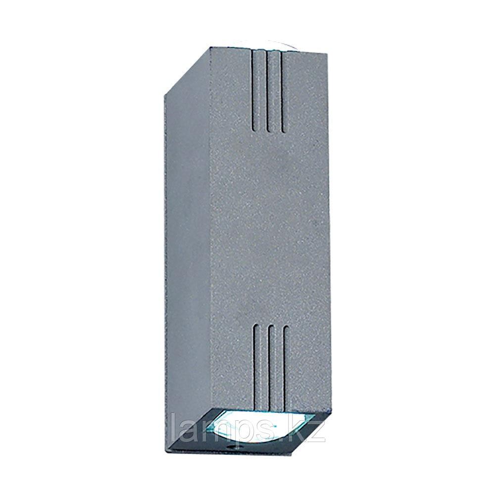 Светодиодный декоративный настенный светильник X3000B-2W BLUE 2X1W LED IP54