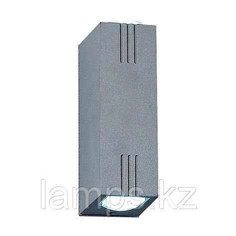 Светодиодный декоративный настенный светильник X3000B-2W BLUE 2X1W LED IP54, фото 2