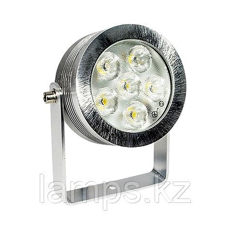 Светодиодный cветильник для фонтанного и наружного освещения R7300L-SPIKE LED 6X1W 4000K, фото 2