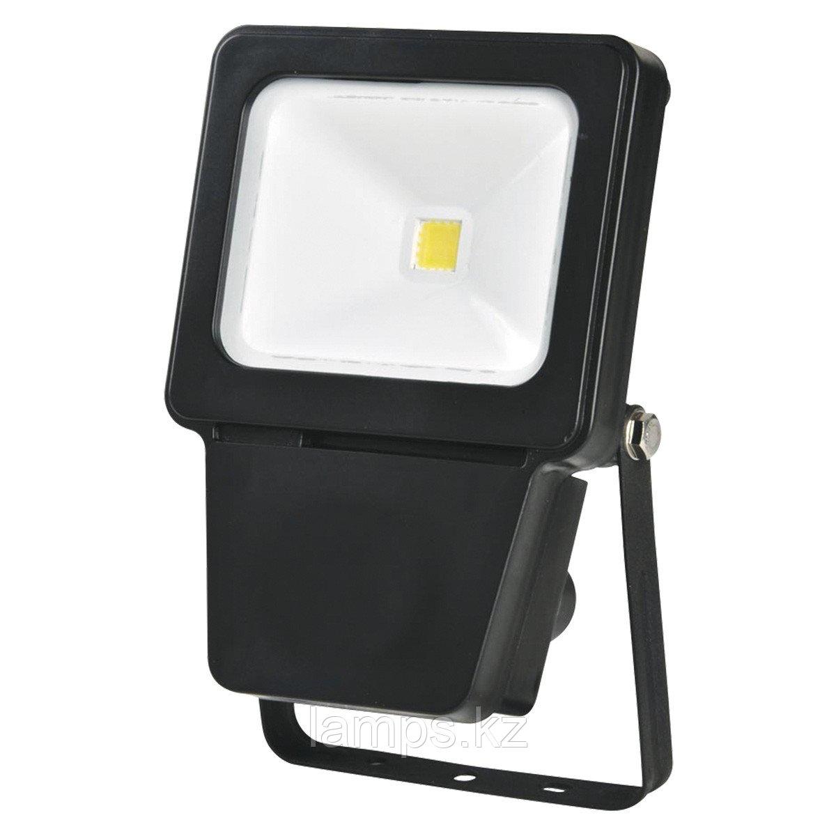 Светодиодный прожектор LED COB 10W BLACK 6000K