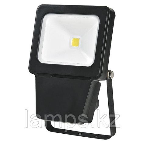 Светодиодный прожектор LED COB 10W BLACK 6000K, фото 2