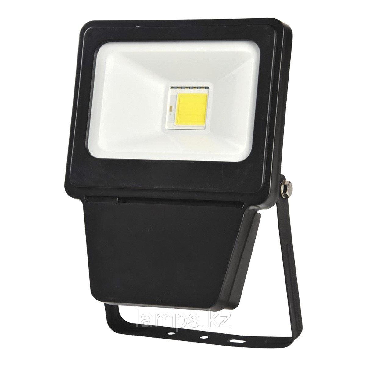 Светодиодный прожектор LED COB 20W BLACK 6000K