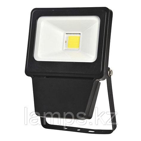 Светодиодный прожектор LED COB 20W BLACK 6000K, фото 2