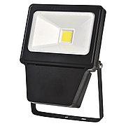 Светодиодный прожектор LED COB 30W BLACK 6000K