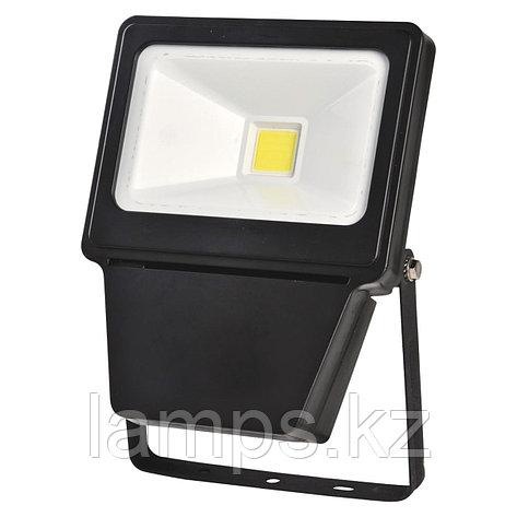 Светодиодный прожектор LED COB 30W BLACK 6000K, фото 2