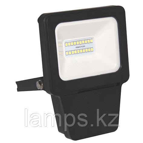 Светодиодный прожектор LED SMD 10W 6000K Black, фото 2