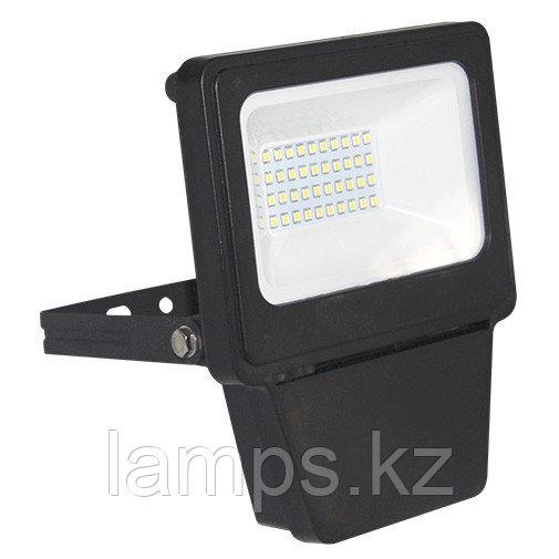 Светодиодный прожектор LED SMD 20W BLACK 6000K