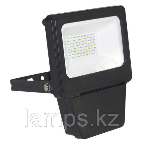 Светодиодный прожектор LED SMD 20W BLACK 6000K, фото 2