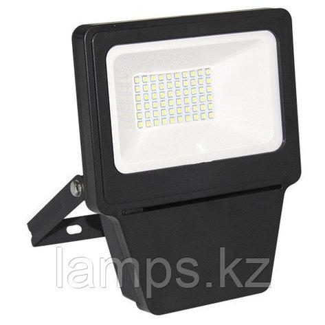Светодиодный прожектор LED SMD 30W BLACK 6000K, фото 2