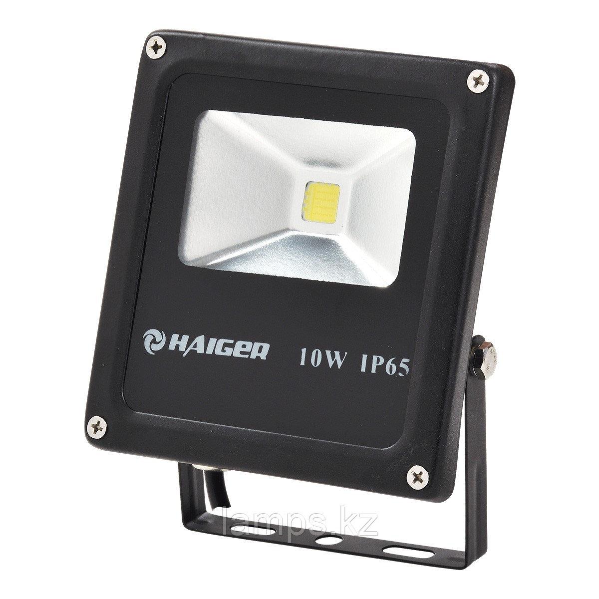 Светодиодный прожектор LED TS010 10W 6000K BLACK