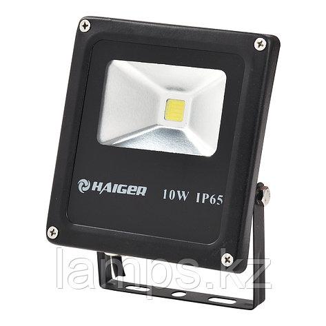 Светодиодный прожектор LED TS010 10W 6000K BLACK, фото 2