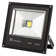 Светодиодный прожектор LED TS030 30W 6000K BLACK