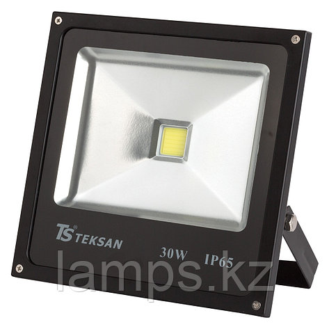 Светодиодный прожектор LED TS030 30W 6000K BLACK, фото 2