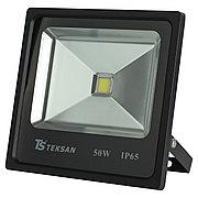 Светодиодный прожектор LED TS050 50W 6000K BLACK