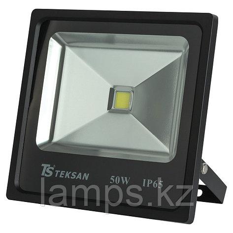 Светодиодный прожектор LED TS050 50W 6000K BLACK, фото 2