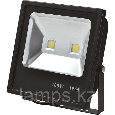 Светодиодный прожектор LED TS100 100W 6000K Black, фото 2