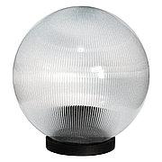 Плафон для садово-паркового уличного светильника D 250 РRIZMATIK