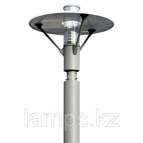 Светильник на столб-опору T1006 E27 32W/MH150W IP55 GREY, фото 2