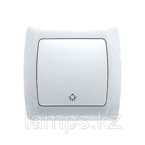 Viko CARMEN BEYAZ кнопочный выключатель, фото 2