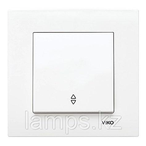 Viko KARRE BEYAZ проходной выключатель 1-кл, фото 2