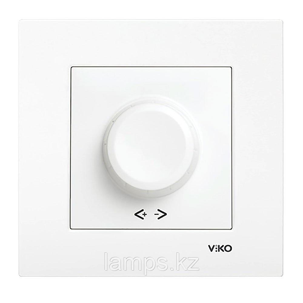 Viko KARRE BEYAZ светорегулятор 600W