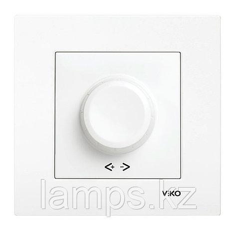 Viko KARRE BEYAZ светорегулятор 600W, фото 2