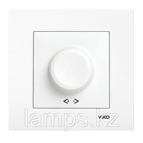 Viko KARRE BEYAZ светорегулятор 1000W, фото 2