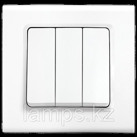 Viko LINNERA BEYAZ выключатель 3-кл, фото 2