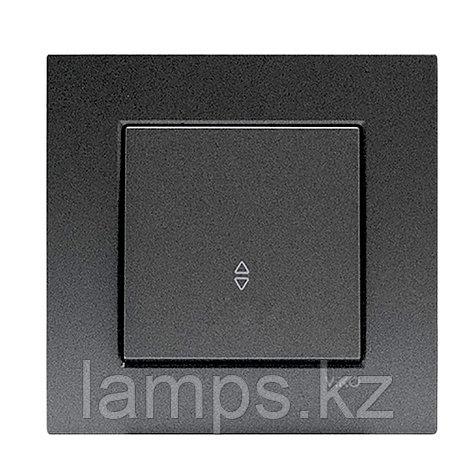 Viko NOVELLA FUME проходной выключатель 1-кл, фото 2