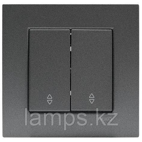 Viko NOVELLA FUME проходной выключатель 2-кл, фото 2