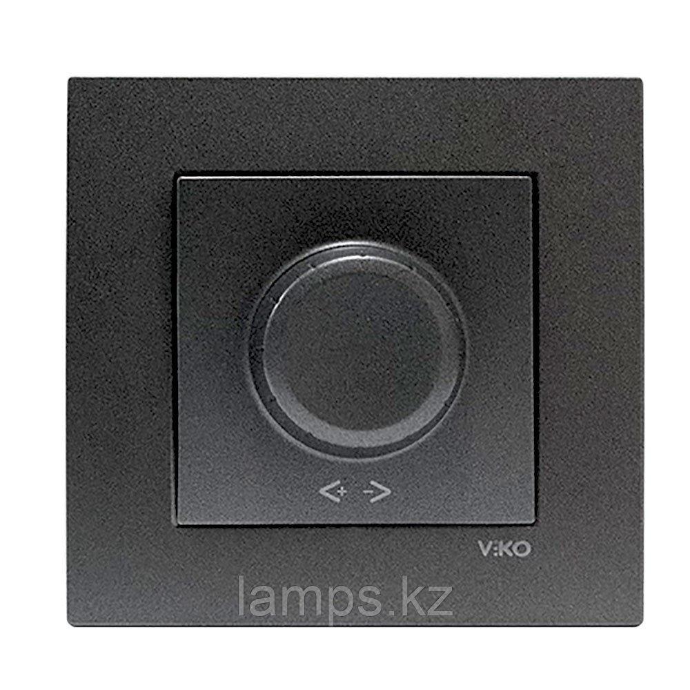 Viko NOVELLA FUME светорегулятор 600W (без рамки)