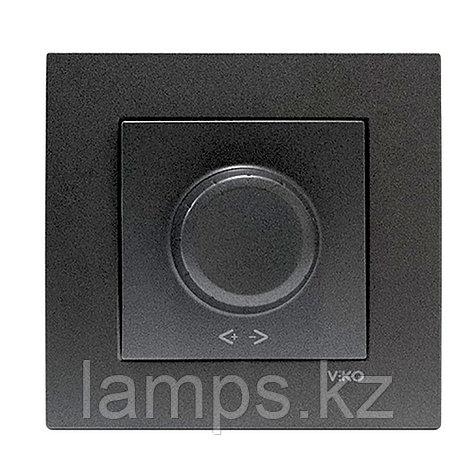 Viko NOVELLA FUME светорегулятор 1000W, фото 2