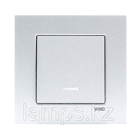 Viko NOVELLA GUMUS выключатель 1-кл с подсветкой, фото 2