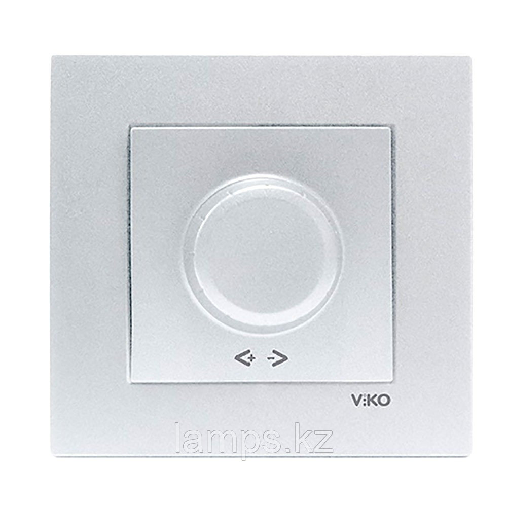 Viko NOVELLA GUMUS светорегулятор 1000W