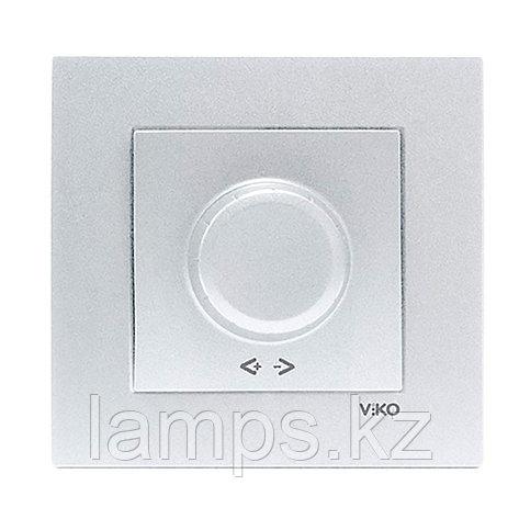 Viko NOVELLA GUMUS светорегулятор 1000W, фото 2