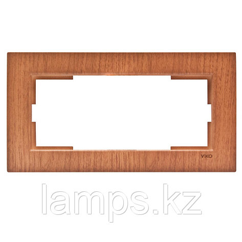 Viko NOVELLA CEVIZ рамка для двойной розетки, фото 2