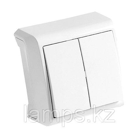 Выключатель 2-кл. белый ViKO Vera 90681002, фото 2