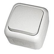 Выключатель 1-кл ViKO белый Palmiye 90555401, IP54 накладной